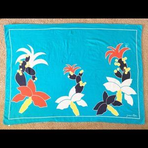Pls Read- VTG 80s Jacques Rollet Scarf Italy